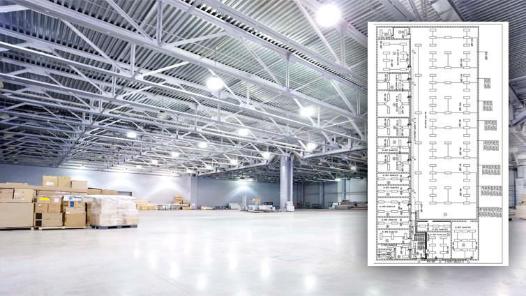 Освещение и его автоматизация на складах